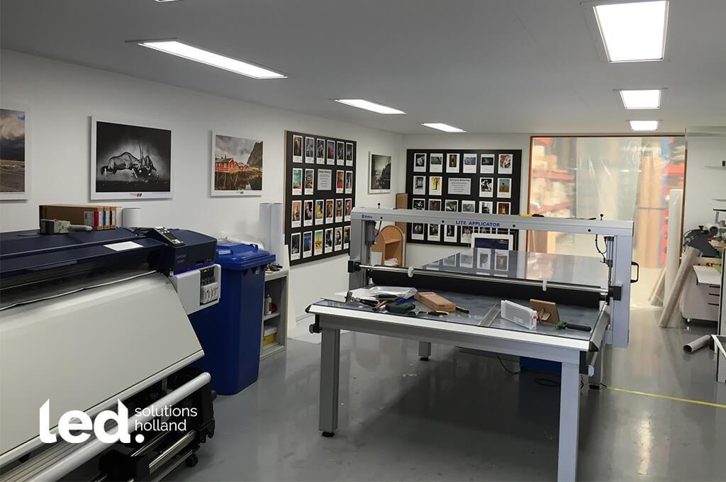 Arca Printers Supplies led verlichting werkplaats