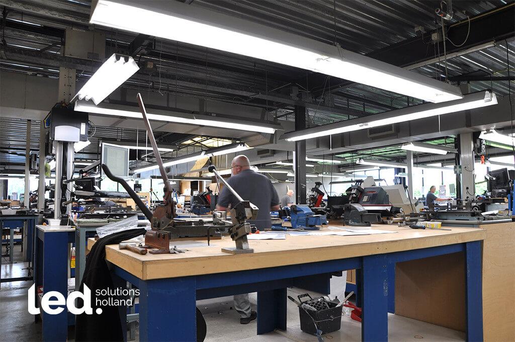 Diefac stansvormen bv oosterhout led verlichting productiehal