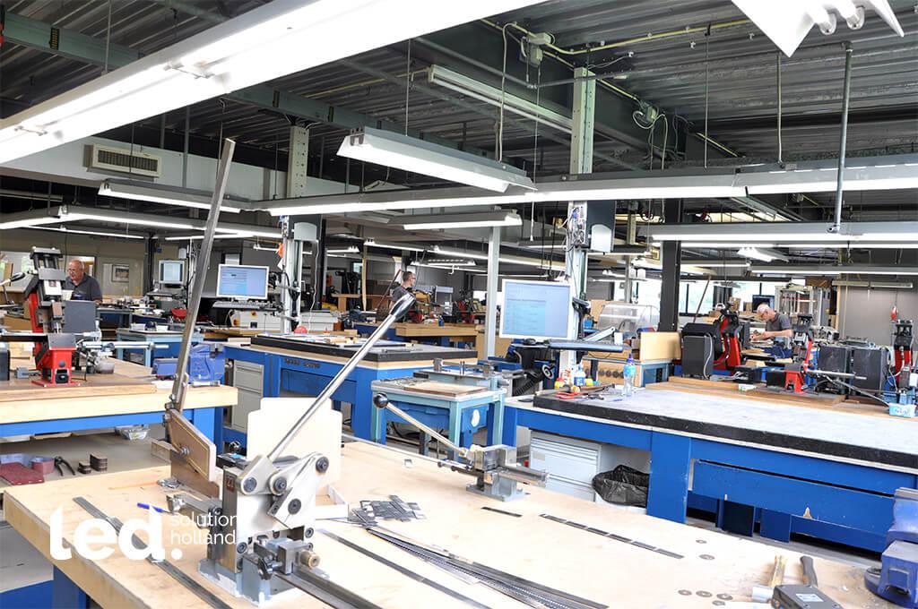 Diefac stansvormen oosterhout bv led verlichting productie