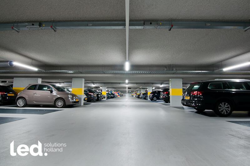 Parking Courtyard Building Utrecht