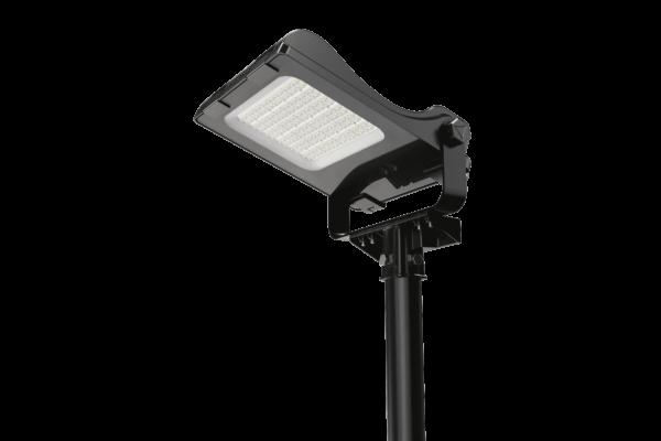 RB LED Floodlight 150watt paal