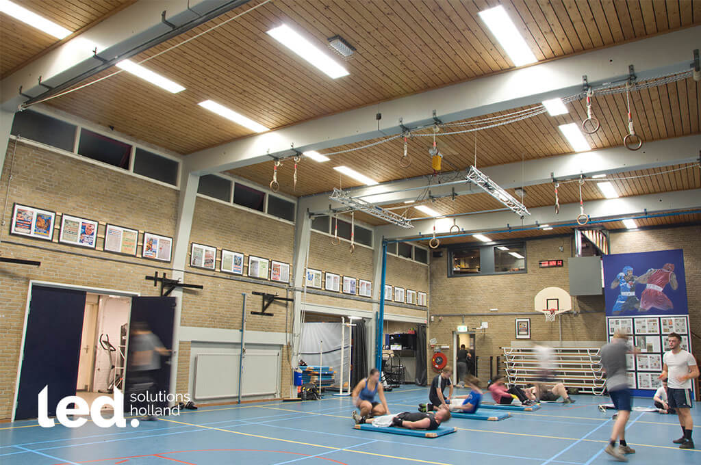 Sportvereniging de bredase ring led verlichting sporthal