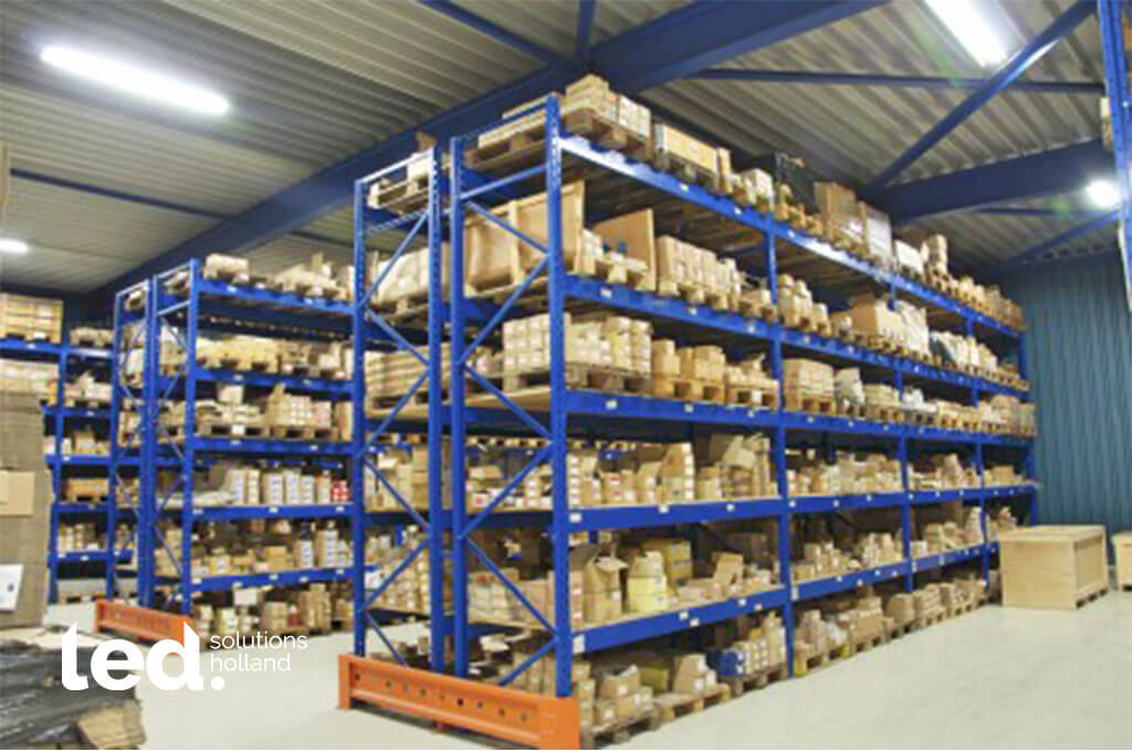 Stokvis trading oosterhout led verlichting magazijn