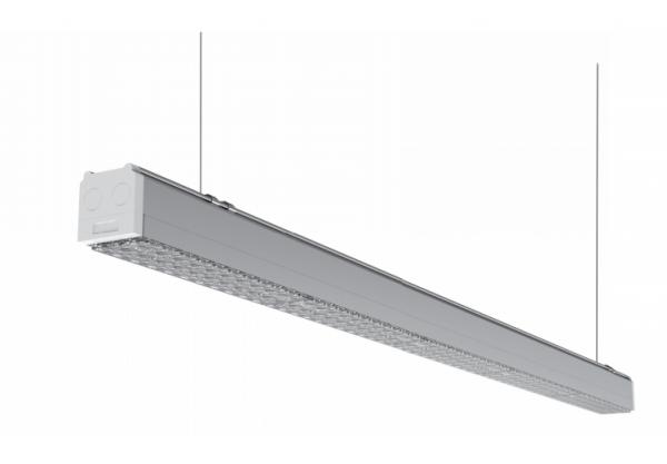 Zumtobel LED armatuur aan lichtlijn