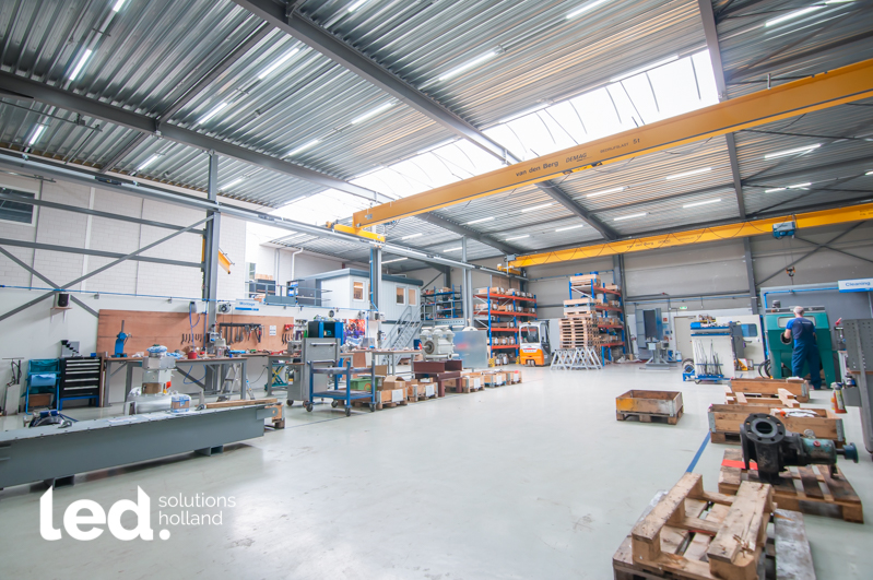 SMS Metaal Service Roosendaal stapt in nieuw pand over op LED